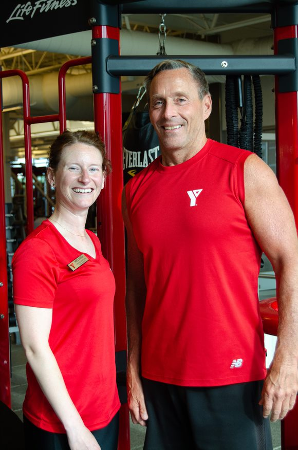 Melissa and Don - YMCA personal trainers